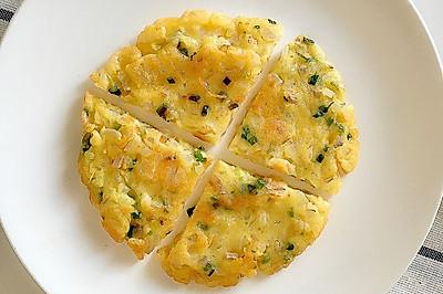 洋蔥雞蛋餅