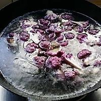 干煸紫花菜的做法图解6