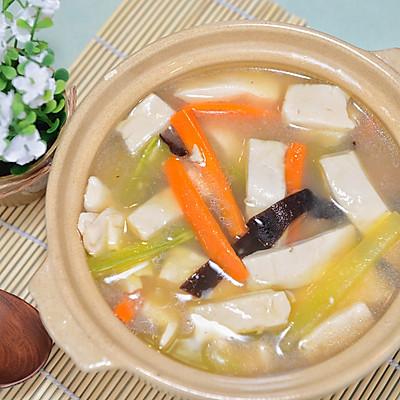 三鲜豆腐钵