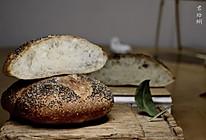 高水分法式乡村面包(无糖、手揉省时低温发酵)的做法