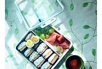 午餐肉寿司的做法
