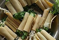 烤蔬菜卷的做法