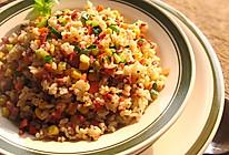 黑椒牛肉粒饭的做法