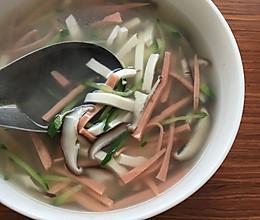 文思豆腐汤的做法