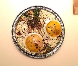 牛油果烤蛋(改良)的做法