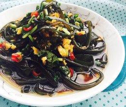 夏季必做开胃凉拌菜—酸辣海带丝的做法