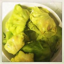 菜叶素菜包,减肥低卡~