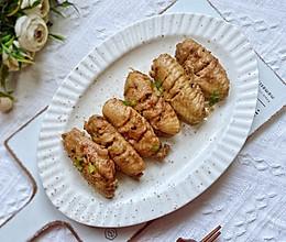#以美食的名义说爱她#妈妈的专属蒜蓉鸡翅的做法