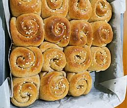全麦蜂蜜小面包的做法