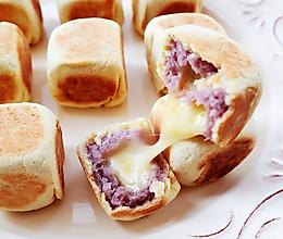 芋泥芝士流心仙豆糕的做法