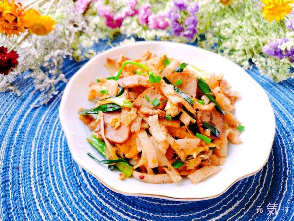 可当饭可当菜【牛肉炒豆丝】的做法