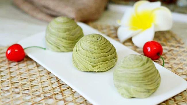 抹茶蛋黄酥(黄油版)的做法