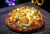 金枪鱼虾仁披萨(海陆至尊完整版)的做法