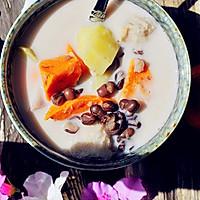 秋季甜蜜滋补甜汤~红豆芋头甜薯汤的做法图解9