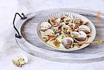 #花10分钟,做一道菜!#炖文蛤的做法