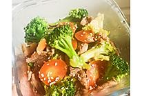 牛肉小炒西兰花和胡萝卜的做法
