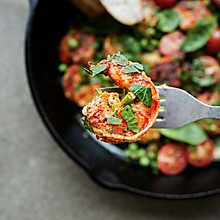 番茄蒜香大虾 | 酸酸辣辣的高颜值营养餐