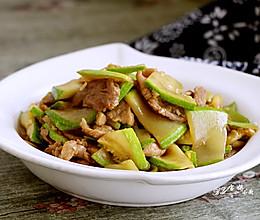 西葫芦炒肉的做法