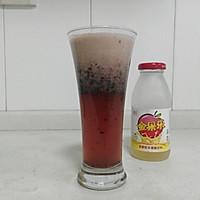 自制健康减肥饮:蓝莓果醋饮的做法图解3