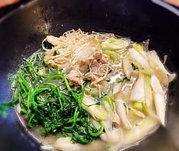 日式大葱鸡肉火锅的做法