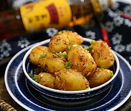 孜然小土豆#金龙鱼外婆乡小榨菜籽油 外婆的食光机#