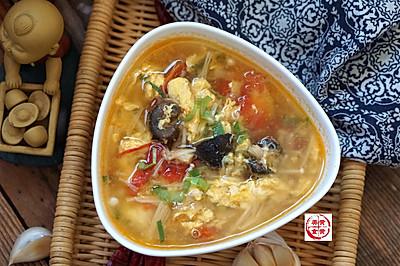 海参西红柿针菇汤