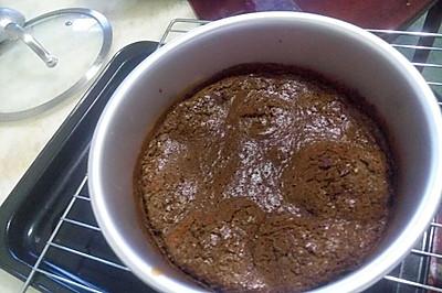 咖啡戚风蛋糕(原创)8寸