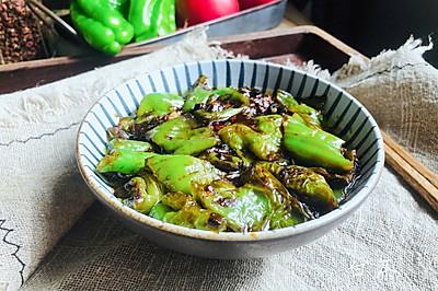 史上最好吃的虎皮青椒,超下饭,专治没胃口