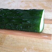 凉拌蓑衣黄瓜-有详细刀工图的做法图解3