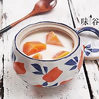 木瓜炖牛奶的做法图解7