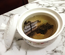 #秋天怎么吃#风寒感冒的的救星—紫苏汤的做法