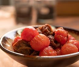 夏天胃口不好?来点爆浆话梅番茄!清爽可口,酸甜开胃老少皆宜!的做法