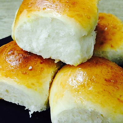 牛奶小面包(无油)