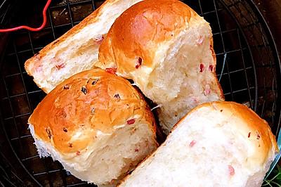 值得收录在烘焙食谱里的面包机吐司~火腿吐司 面包