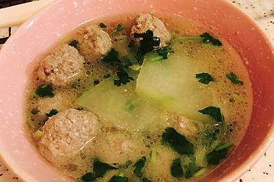 超简单冬瓜羊肉丸子汤