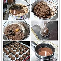 【趴体小零食】杏仁脆片巧克力球~~自制费列罗的做法图解8