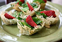 salad with cheese cup的做法