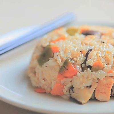 南瓜鸡肉焖饭「厨娘物语」