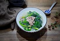 羊肉卷菠菜汤的做法