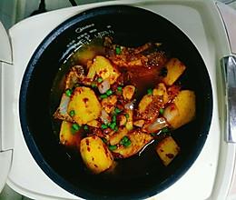 排骨土豆闷饭的做法