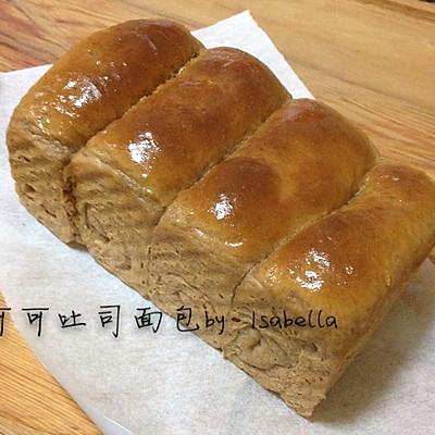 超软可可吐司面包