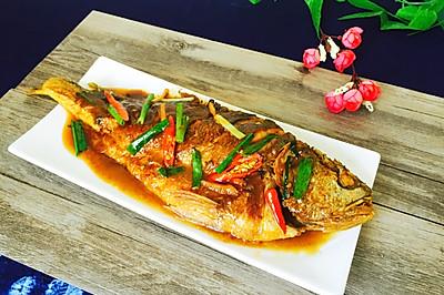 紅燒大黃魚