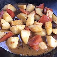 #助力高考营养餐#番茄土豆炖牛腩的做法图解18
