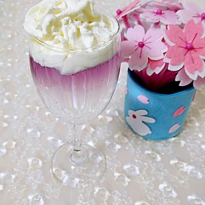 分层饮料之——紫色迷情