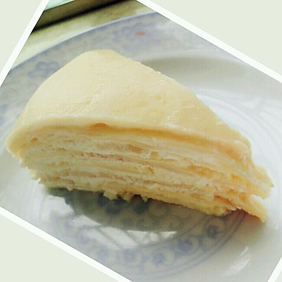 法式榴莲千层蛋糕
