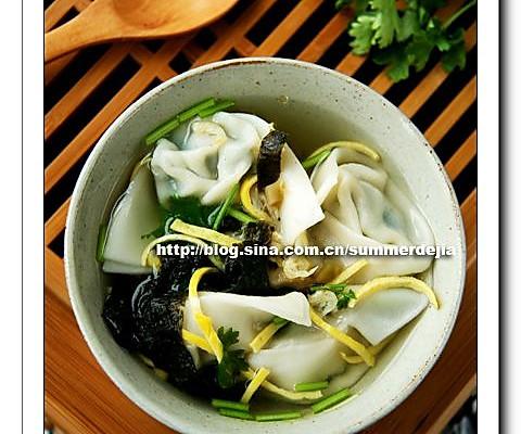 韭菜鲜肉馄饨的做法