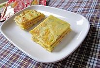 葱花榨菜鸡蛋饼——乌江榨菜的做法