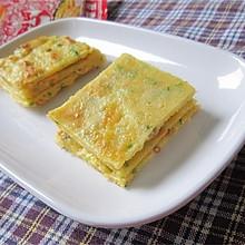 葱花榨菜鸡蛋饼——乌江榨菜