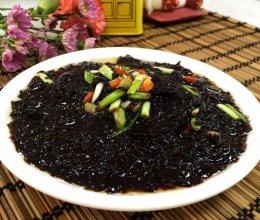 凉拌紫菜的做法