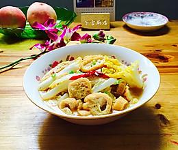 油豆腐炖娃娃菜的做法